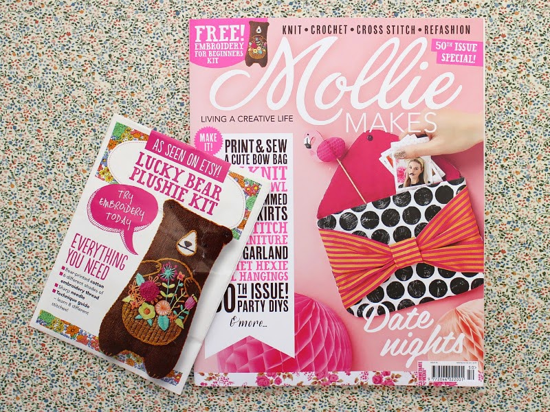 4be1a224abd The new issue of Mollie Makes is a proper good one  there s instructions  for crochet hexie wall hangings