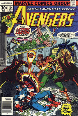 Avengers #164, the Lethal Legion is back