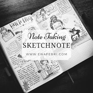 metode pencatatan sketchnote