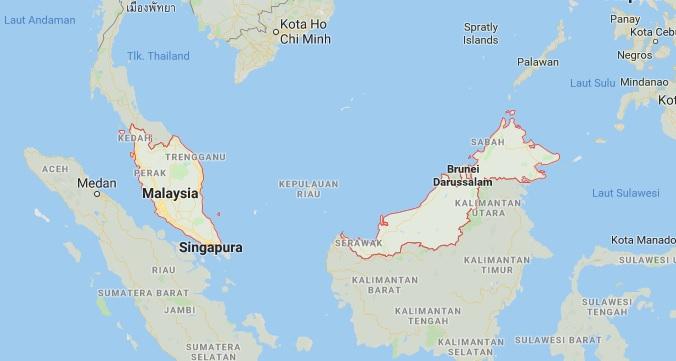Batas Wilayah Malaysia
