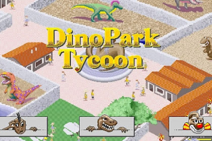 How to Download Game DinoPark Tycoon for Computer PC or Laptop