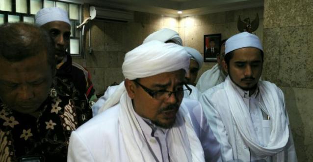 Tanpa Ada yang Melapor, Polisi Tetap Usut Penghasutan oleh Habib Rizieq