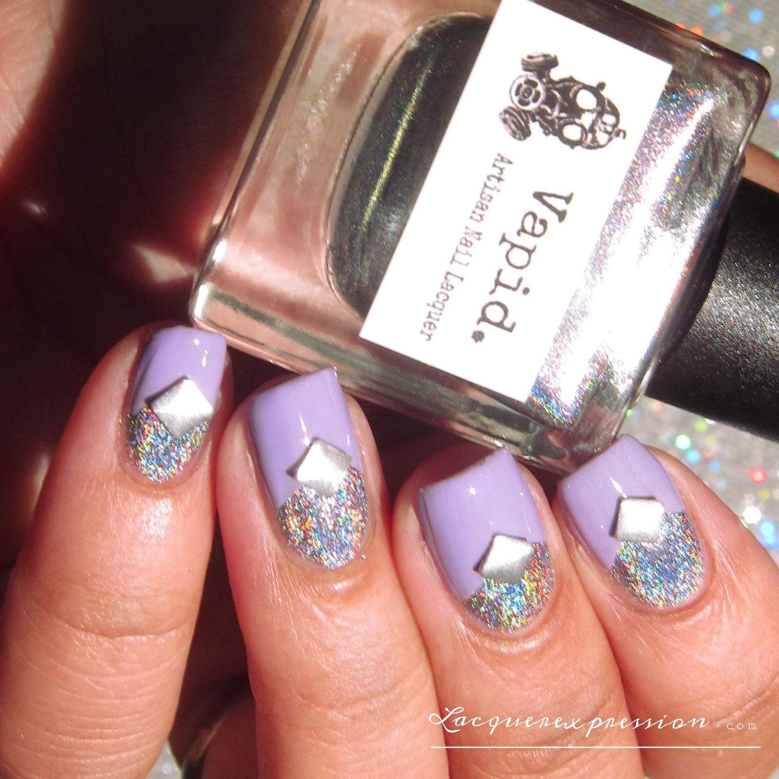 Mainstream swatch and review - Swarovski TRENDS nail art crystals ...