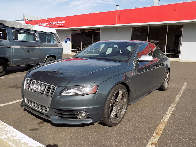 Beautiful & fast Audi S4 with collision damage on passenger side.