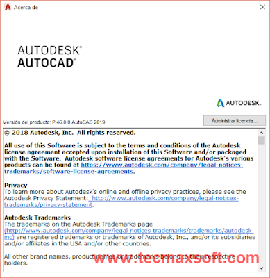 Autocad 2019 MEGA en Español Captura 4
