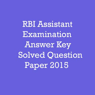 Rbi Assistant Previous Year Question Paper Pdf