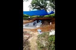 Video Menyeramkan, Bayangan Putih Terekam Masuk ke Kuburan