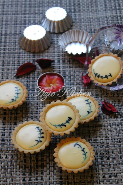 Blueberries Cheese Tart