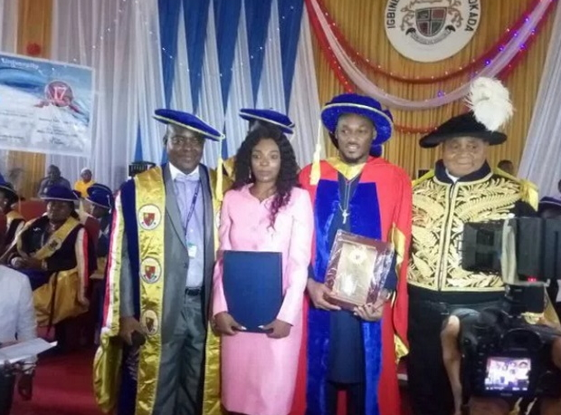 esama of benin tuface idibia honorary degree