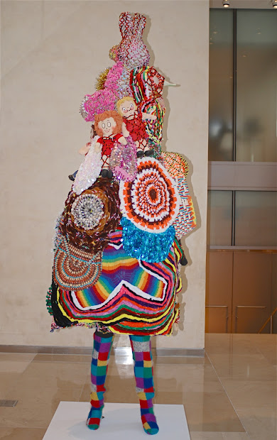 "Nyc Art Of Fabric Sculpture ""soundsuit"""