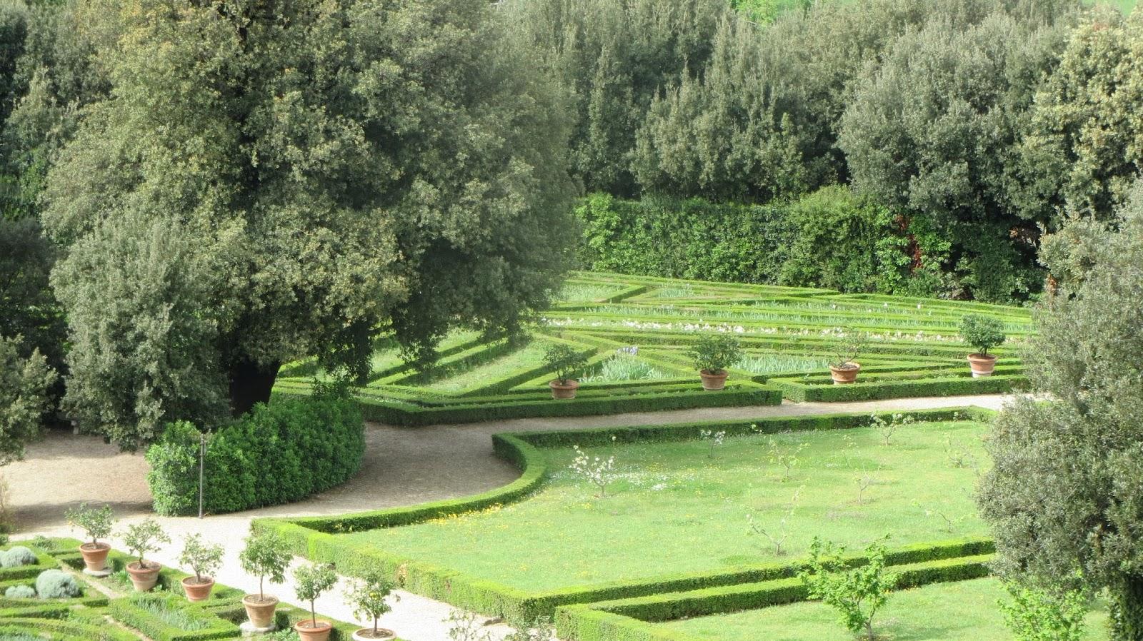 Hortibus voyage palais et jardins de toscane groupe for Jardin de toscane