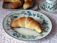 Κρουασάν με γιαούρτι χωρίς βούτυρο - by https://syntages-faghtwn.blogspot.gr
