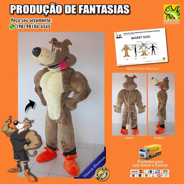 Fantasia de Cachorro Forte Musculoso para vestir - PREÇOS