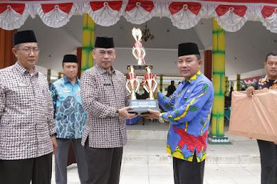 Kecamatan Pringsewu Juara Umum MTQ Korpri Pringsewu Ke IV