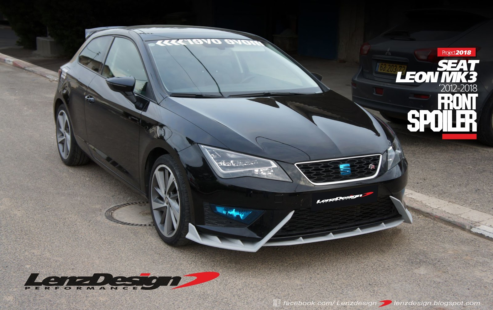 seat leon mk3 5f lenzdesign body kit spoilers 2012 2013. Black Bedroom Furniture Sets. Home Design Ideas