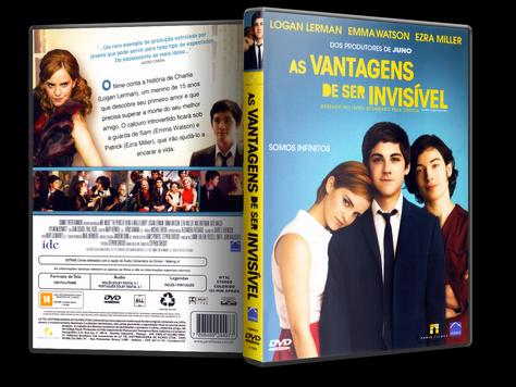 Capa DVD As Vantagens de Ser Invisível (Oficial)
