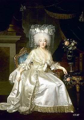 Portrait of Marie-Joséphine-Louise de Savoy by Joseph Boze and Robert Lefèvre, 1786