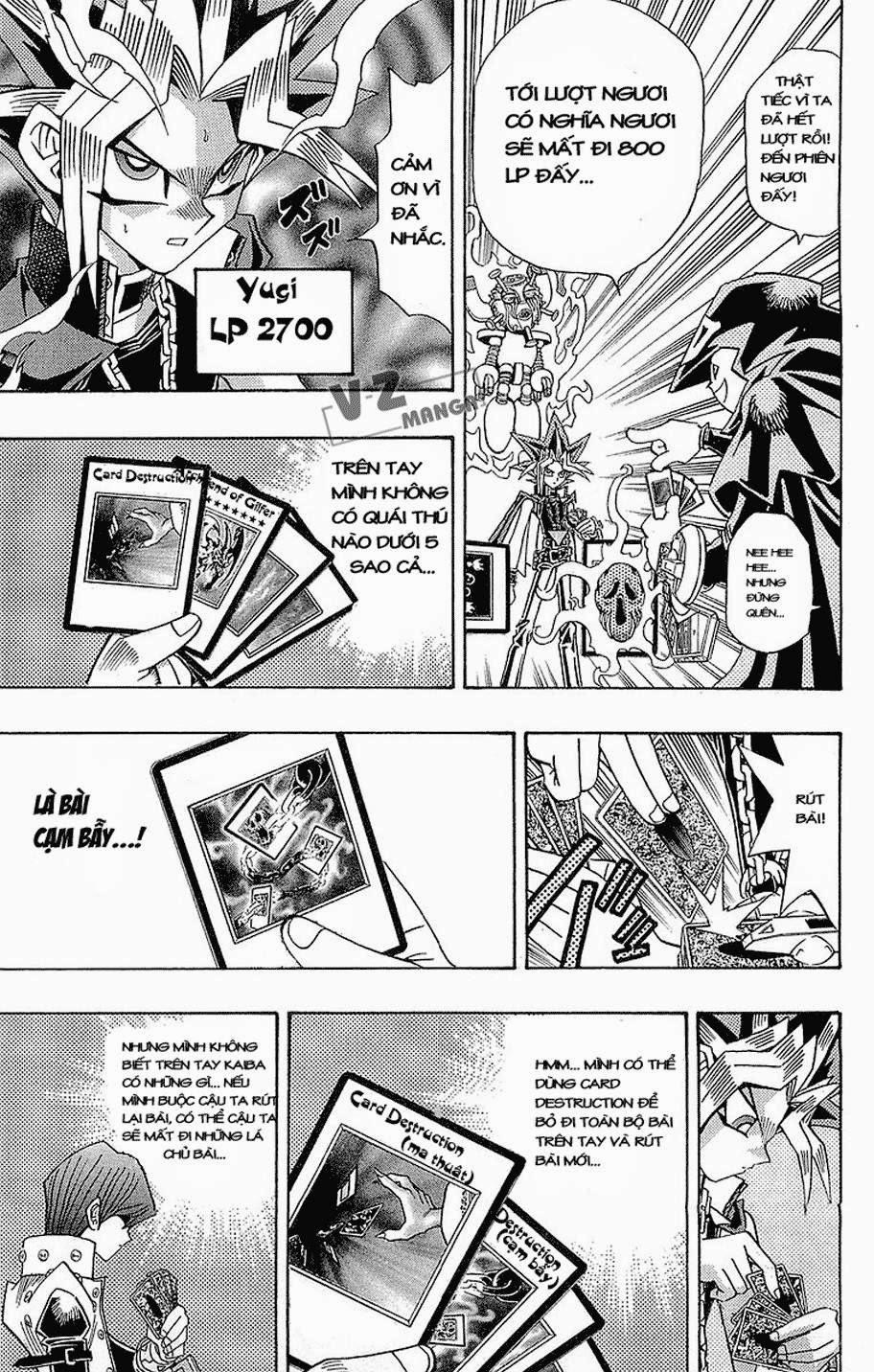 YUGI-OH! chap 186: quái thú kết hợp! trang 11