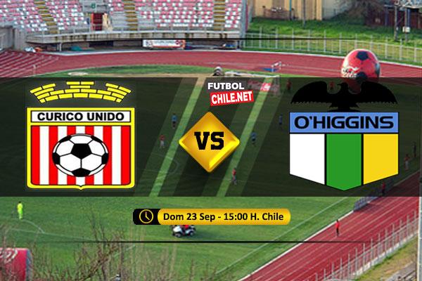 Mira Curicó Unido vs O´Higgins en vivo y online  por la Primera División