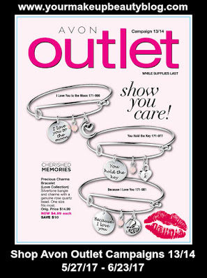 Shop Avon Outlet Campaigns 13/14 Good Through 6/23/17. While Supplies Last!