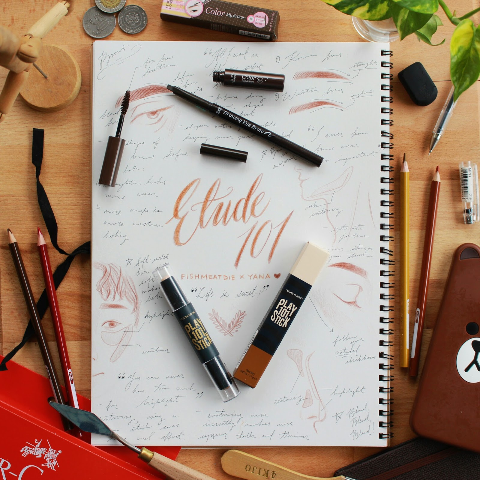 Etude House Drawing Eye Brow Color My Brows Review Fishmeatdie Eyebrow Set Are Super Essential To Any Look They Frame The Face And Mood For Your Whole Theyre Especially Ultra Important Me Because A