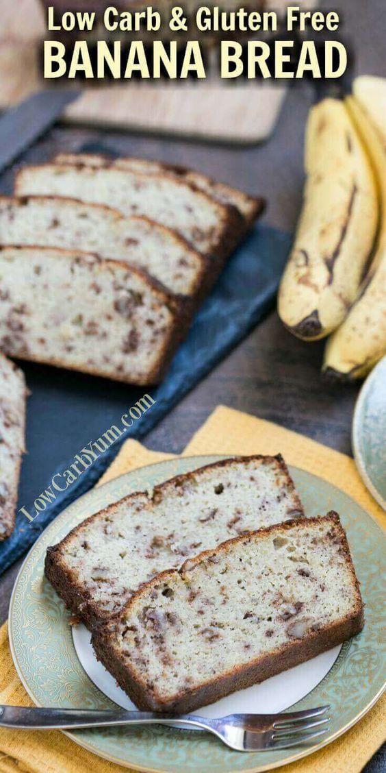 SIMPLE LOW CARB BANANA BREAD RECIPE – GLUTEN FREE