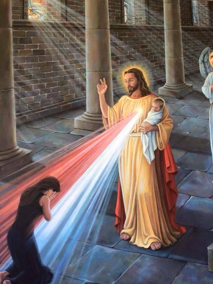 Maria Divine Mercy's Messages of The Warning and The Second