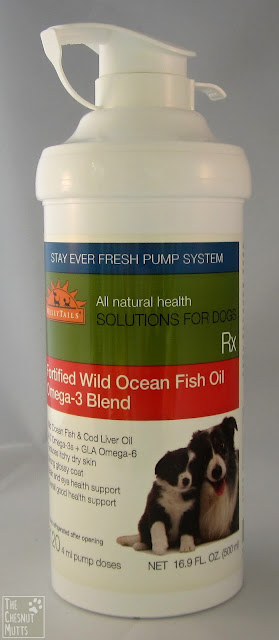 WellyTails Fortified Wild Ocean Fish Oil Omega-3 Blend