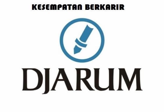 Lowongan Kerja Terbaru PT Djarum Indonesia