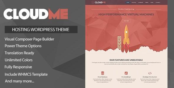 Download Cloud Me Host v1.0.2 WordPress Theme Free