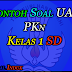 Contoh Soal Latihan Ujian Akhir Semester (UAS) Mata Pelajaran PKn kelas 1 Sekolah Dasar (SD) Format Word