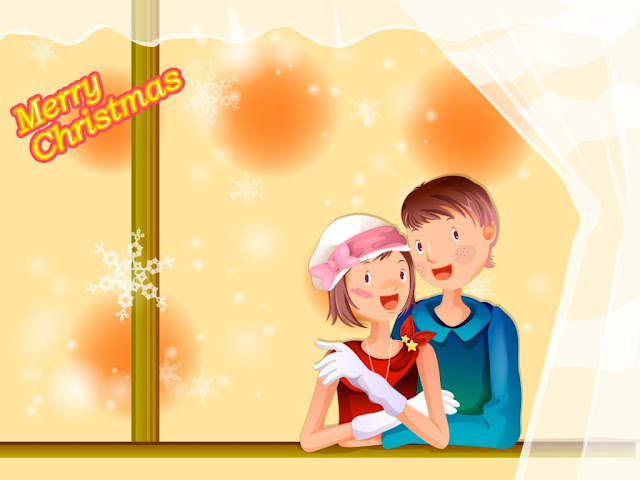 merry christmas love ipad wallpaper