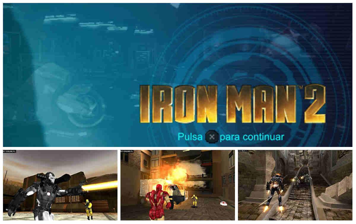 Capturas Iron Man 2 psp
