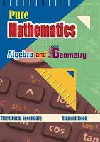 تحميل كتاب الجبر والهندسة الفراغية باللغة الانجليزية للصف الثالث الثانوى