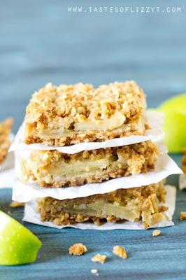 Layered Apple Oatmeal Bars, Apple Recipes