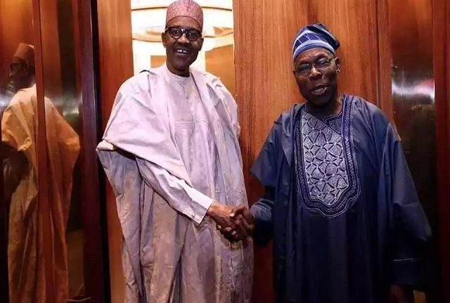 Former President of Nigeria, Olusegun Obasanjo, on Sunday reacted with a denial to a media report that he asked President Muhammadu Buhari not to seek re-election in 2019 – saying he is free to contest another election.