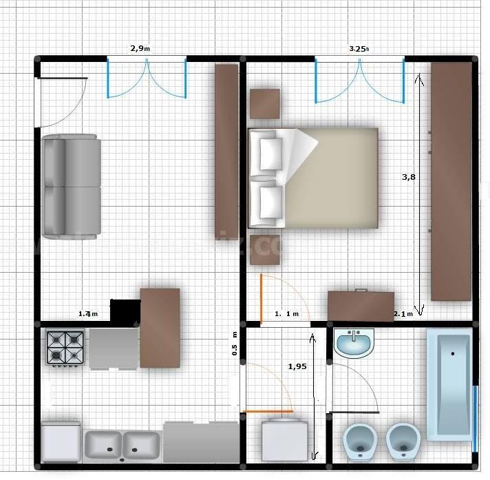 Art craft diy progetto casa 2 il mini appartamento for Progetto arredamento online