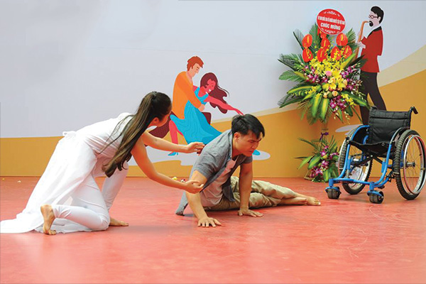 Kỷ niệm ngày khuyết tật Việt Nam 18-4 CLB Kát Vọng