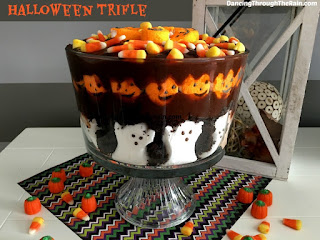 Pumpkins & Ghosts Halloween Trifle Recipe