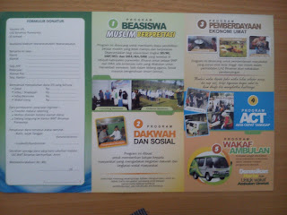 Jasa bikin poster, sebar leaflet, brosur dan sarana periklanan masal lainnya