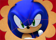 Sonic The Hedgehog Round Puzzle