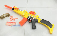 Mp5 Toy Gun With Nerf Gun Manners