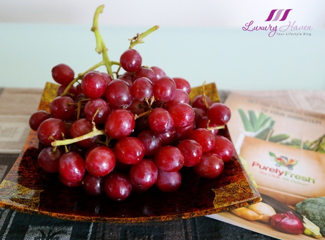 purelyfresh online supermarket fresh fruits grapes
