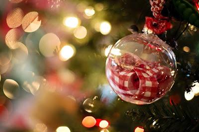 Decoração de Natal: bola de Natal