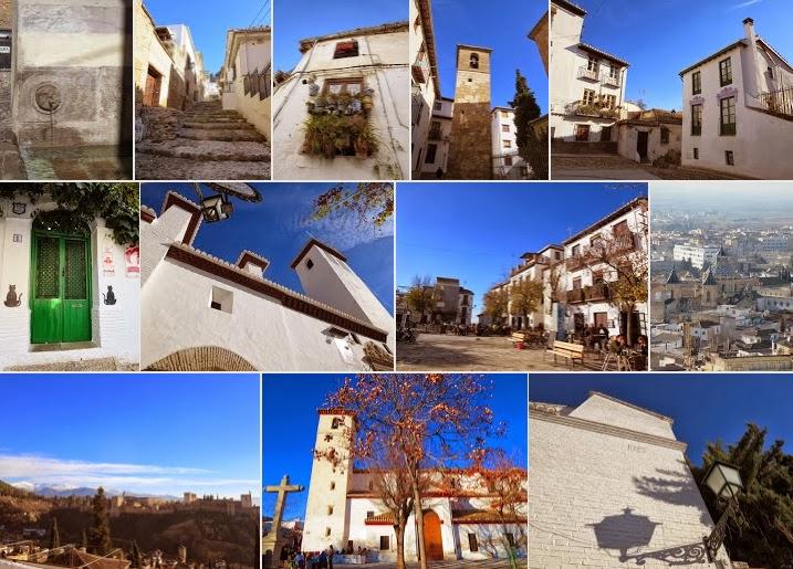 Christmas in Granada - Albayzin Neighborhood