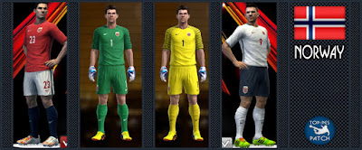 PES 2013 Norway 2016-17 Kits by Radymir