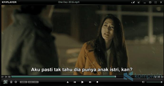 menonton video dengan subtitle