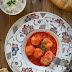 Albóndigas con tomate en Crockpot