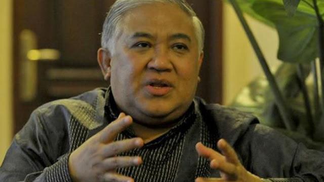 Din Syamsuddin: Aksi Bela Tauhid Tidak Perlu Ditanggapi dengan Sinis