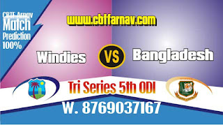 BAN vs WI ODI 2019 Match 5th ODI Match Prediction Today Who Will Win